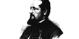 Ganz Ábrahám, Marastoni József litográfiája, 1861