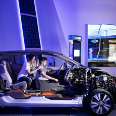 Elektromobilitás Látogatóközpont - Millenáris (Forrás: e-mobi.hu)