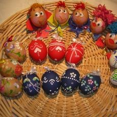 kézműves tojások