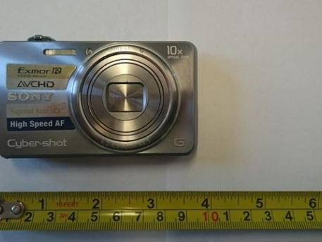 Az egyik ellopott tárgy (Fotó: police.hu)