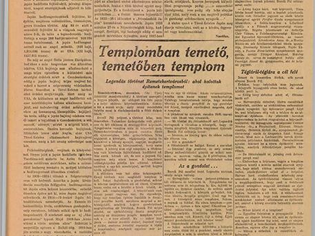 az újság 1938
