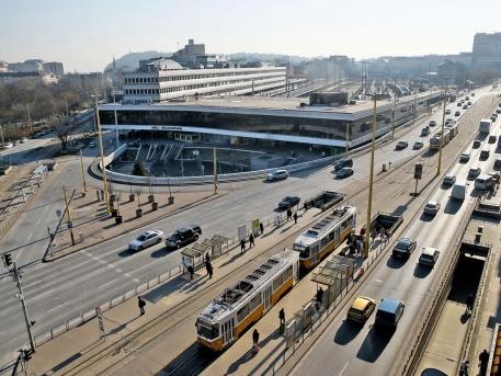 A Déli pályaudvar (fotó: Szabó Miklós)