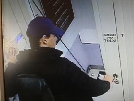Az elkövető (forrás: police.hu)