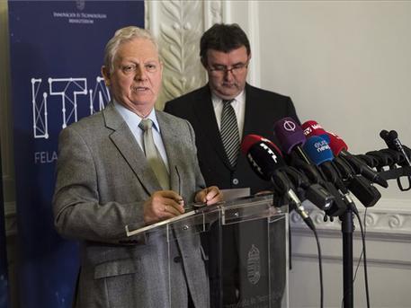 Tarlós István és Palkovics László (fotó: Mónus Márton - MTI)