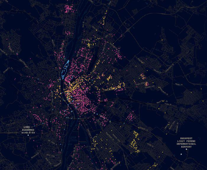 Ii Kerulet Erdekes Terkep A Budapesti Terfigyelo Kamerakrol