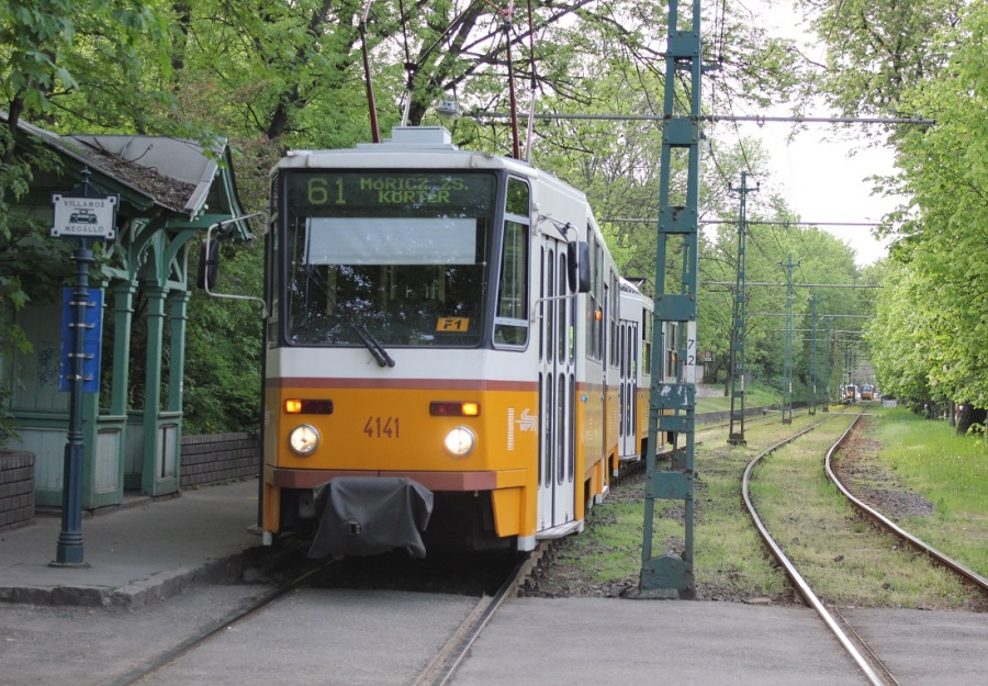Eső miatt nem járnak a villamosok Hűvösvölgy és Budagyöngye között
