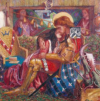 Dante Gabriel Rosetti festménye