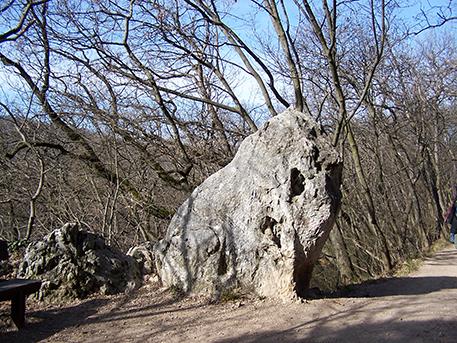 Az oroszlán-szikla, nappal, forrás: OSZK