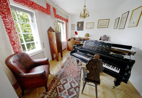Bartók dolgozószobája az Emlékházban
