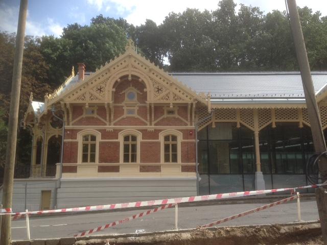 Megújult a Zugligeti úti  lóvasút-végállomás, a Hegyvidéki Helytörténeti Gyűjtemény új otthona (fotó: ittlakunk.hu)